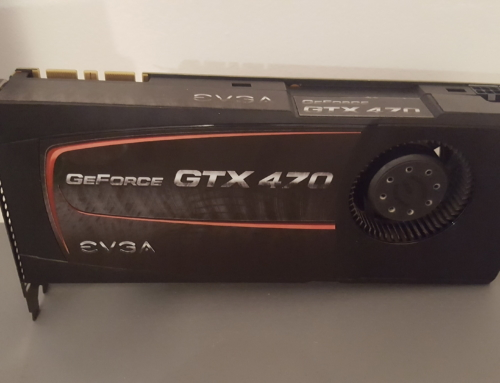 Замена термопасты и разборка видеокарты EVGA GTX470.