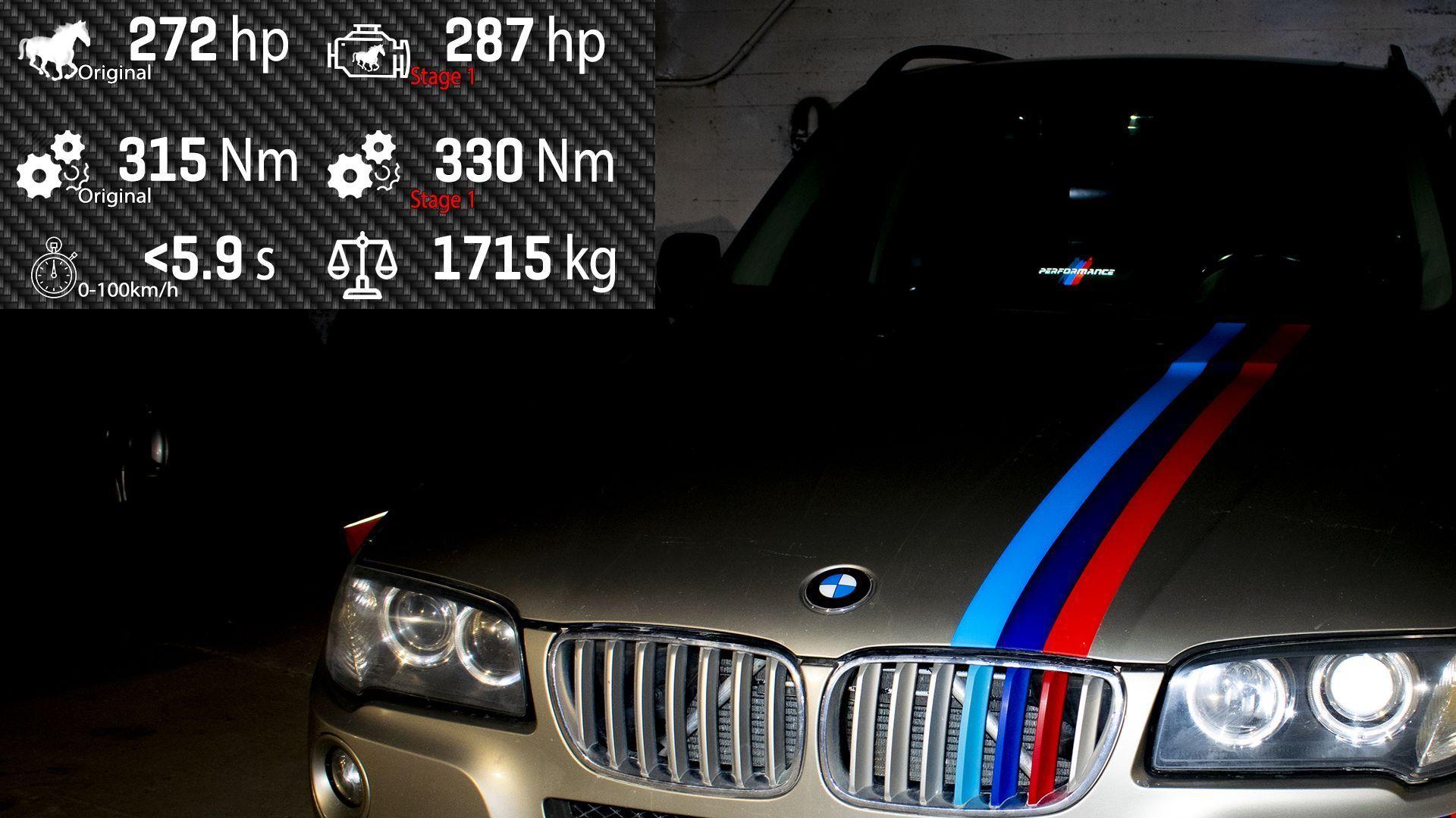 Как сделать чип тюнинг BMW своими руками? Тюнингуем ECU, автомобиль BMW X3 E83 2007.